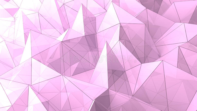 3d Pyramid Wallpaper Abstract Triangle Pyramids Geometric Background Stock