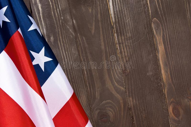 American Flag Wooden BackgroundThe Flag Of The United States Of - America Flag Background