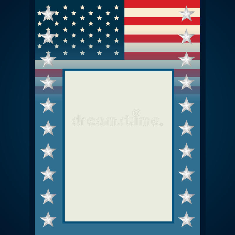 American Independence Day Flyer Stock Vector - Illustration of - independence day flyer