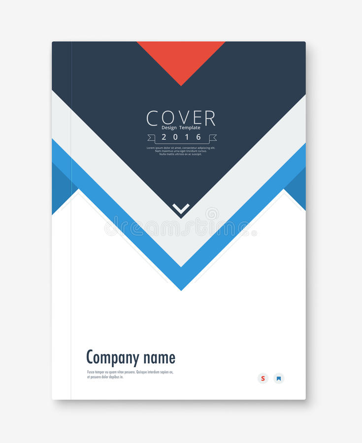 Annual Report Cover Design Book, Brochure Template With Sample - company annual report sample