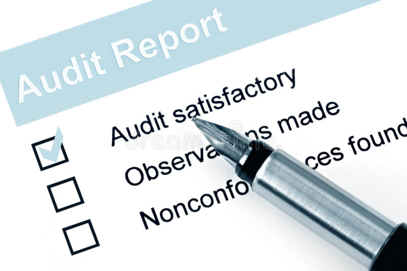 Audit Report stock image Image of colour, image, appraisal - 11268143 - audit report