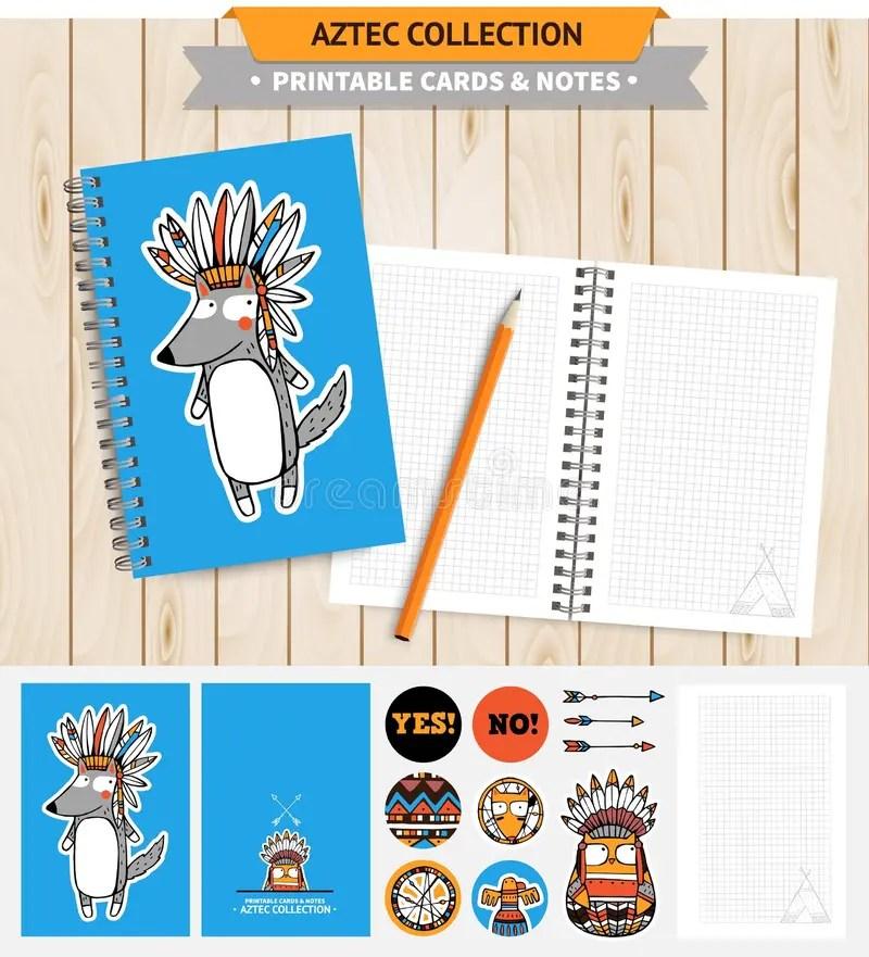Aztec printable set stock vector Illustration of baby - 62960801