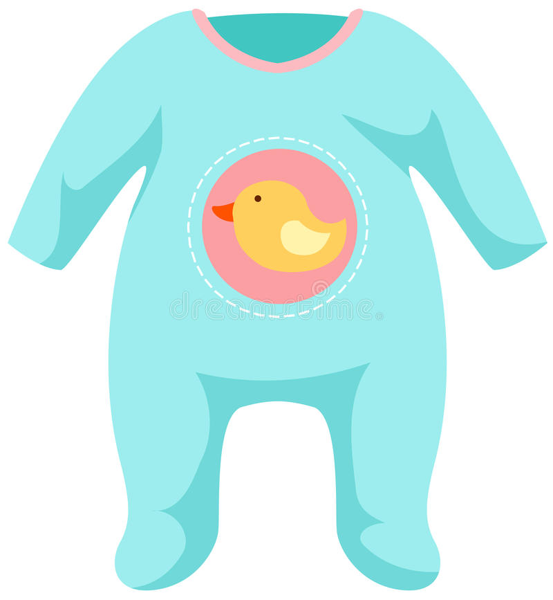 Baby onesie template stock vector Illustration of jumper - 16835491