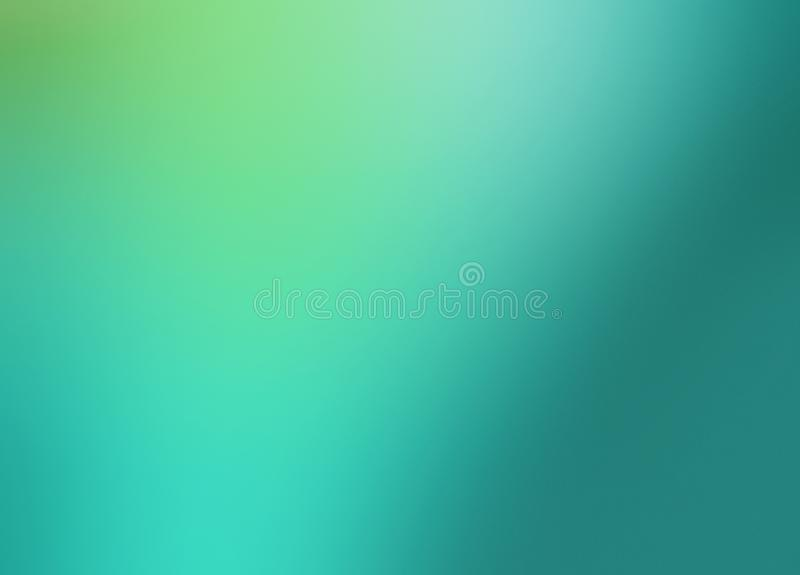 Gradient Green Sea Abstract Background For Interfaces Or Brochures