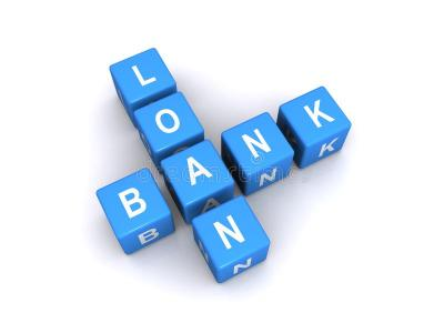 Bank Loan Sign Royalty Free Stock Photo - Image: 26422145