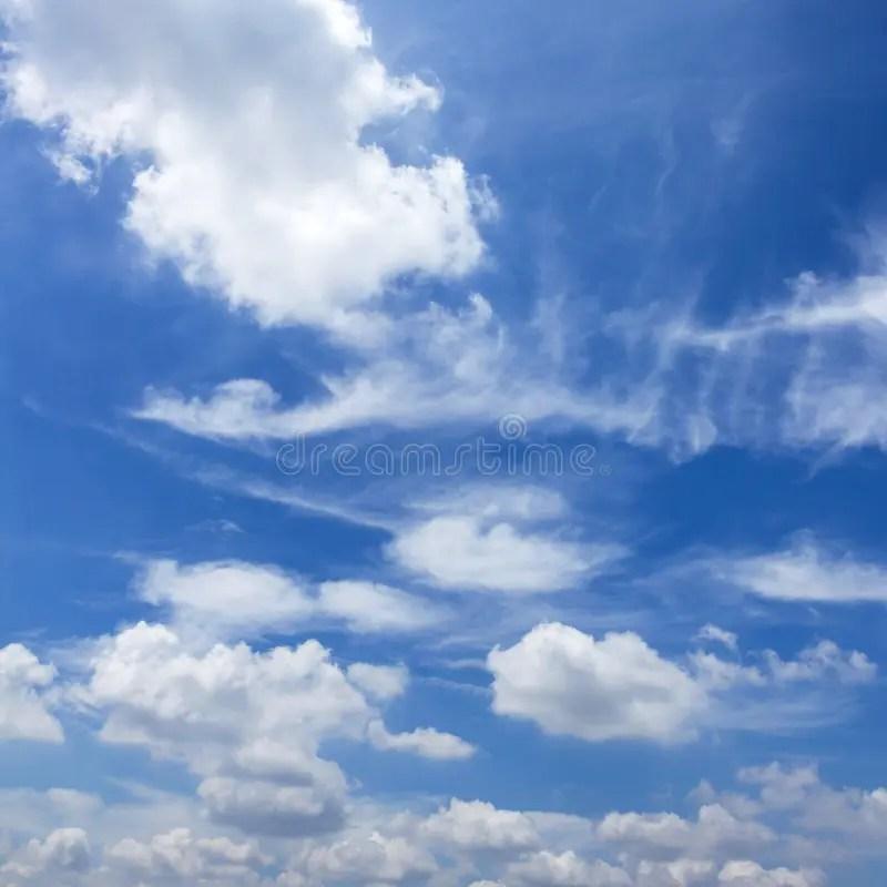 Basic blue sky background stock image Image of high - 105367829 - basic blue background