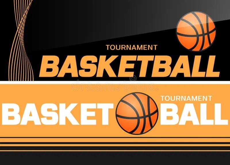 Basketball Flyer Or Web Banner Design With Ball Icon Stock Vector - basketball flyer example