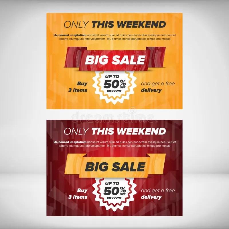 Big Sale Flyer Template Stock Vector - Image 64856552 - discount flyer template