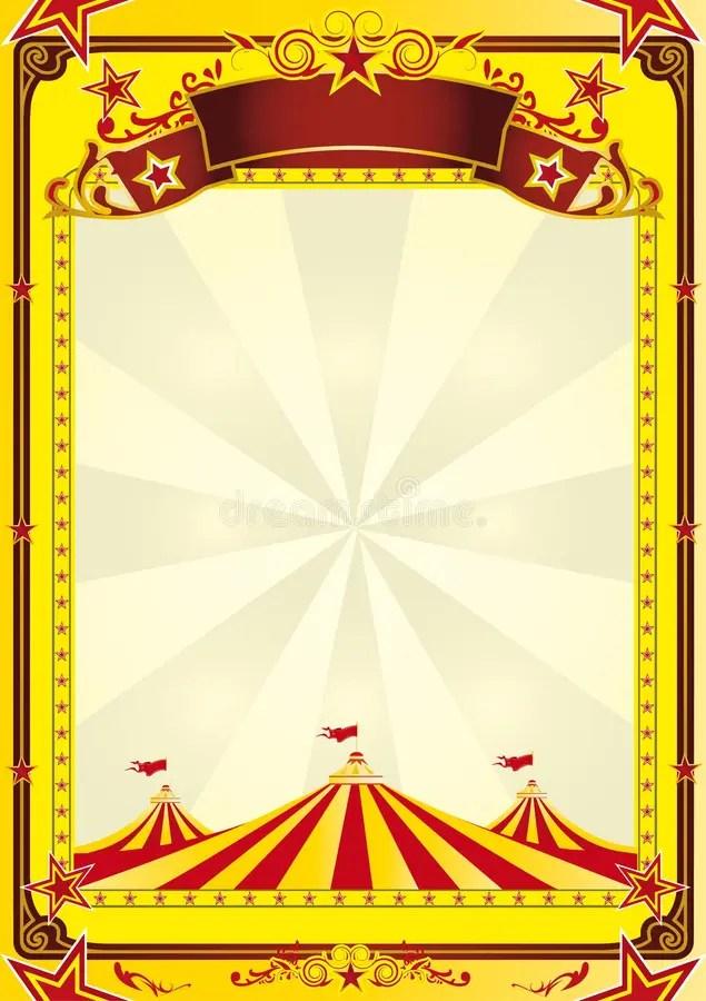 Big Top circus flyer stock vector Illustration of school - 10221584