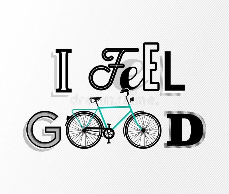 Poster Fahrrad Bike Concept Bicycle Motivation Retro Text Poster Stock