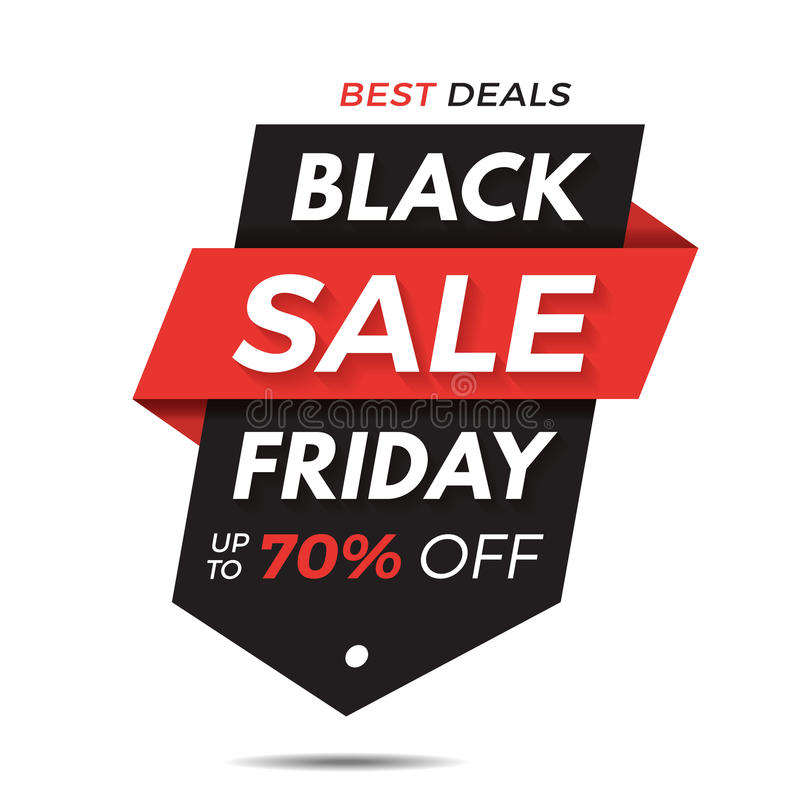 Black Friday Label Price Tag Sale Banner Badge Template Sticker - sale tag template