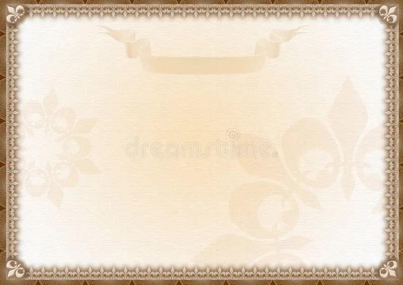 Blank Award Certificate stock illustration Illustration of employee