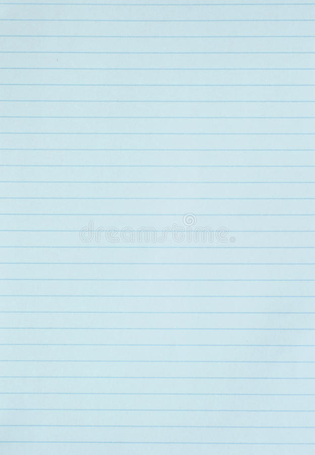 Blank Blue Lined Paper Background Or Textured Stock Photo - Image of