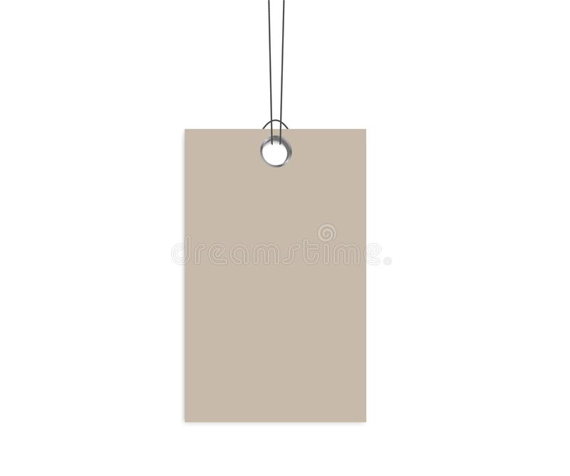 Blank Labels Template Price Tags Stock Vector - Illustration of sale - blank label template