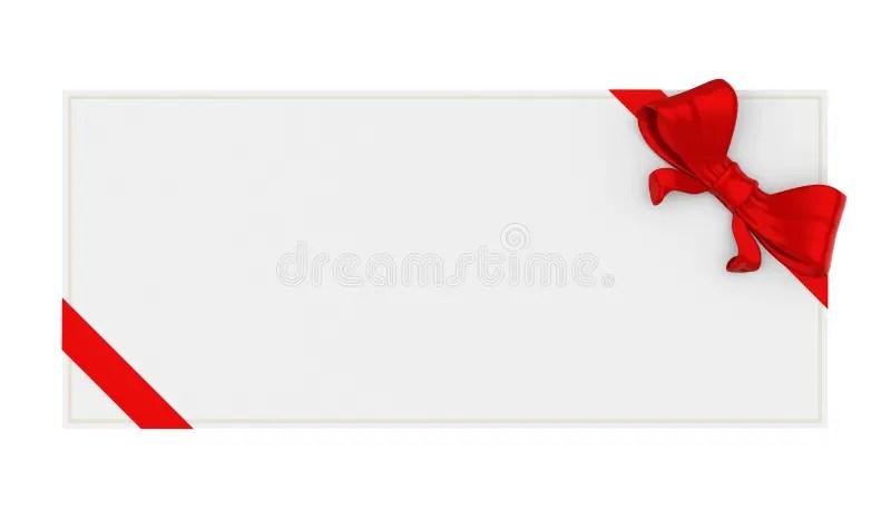 Blank Gift Voucher Isolated Stock Illustration - Illustration of - blank voucher