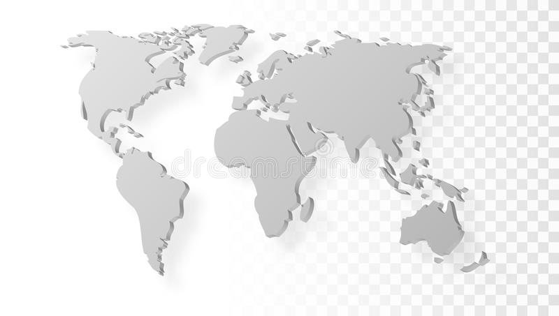 world map no background - Goalgoodwinmetals - Black And Grey World Map