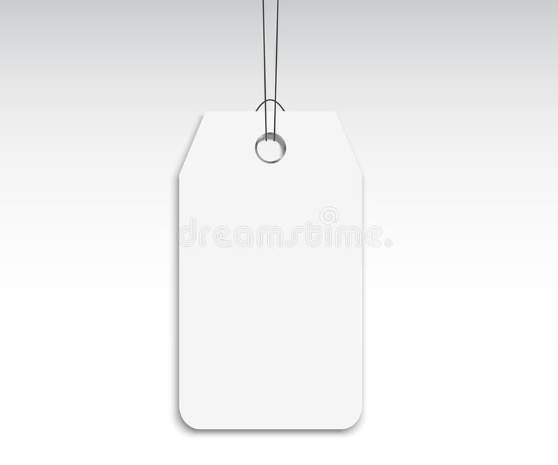 Blank Labels Template Price Tags Set Realistic Vector Stock Vector - blank label template