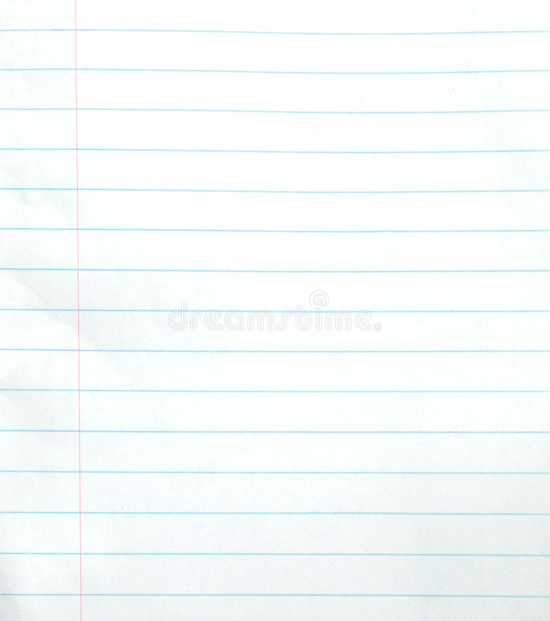 Blank Lined Notebook Paper Background Stock Photo - Image of paper - notebook paper download