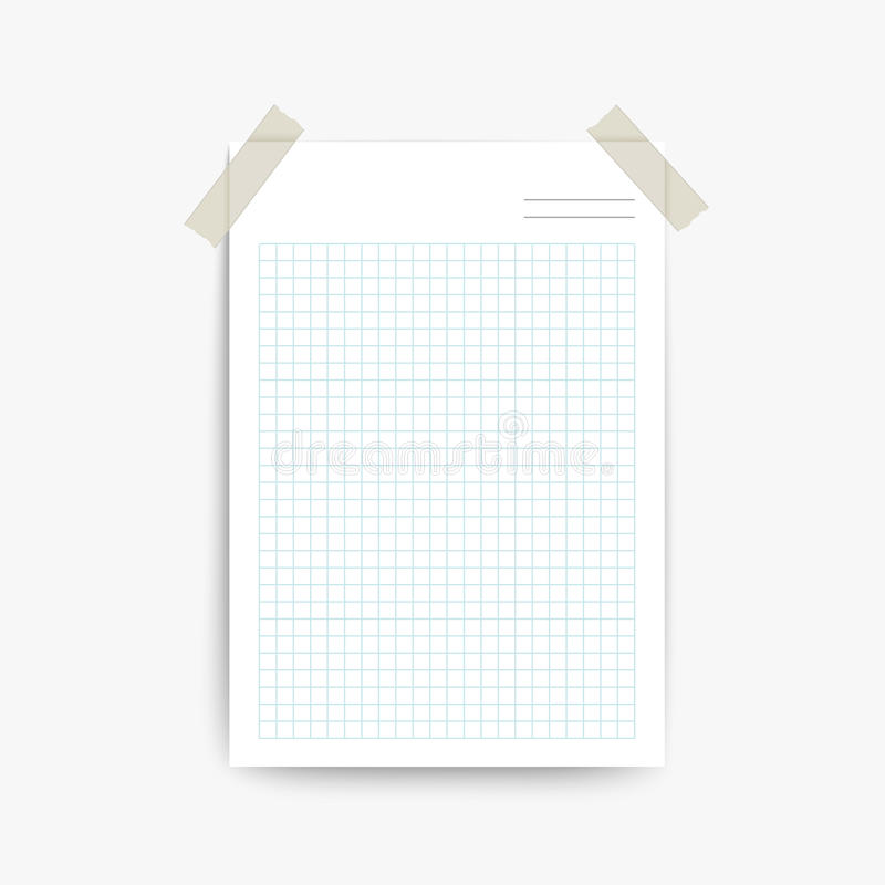 Blank note paper template stock vector Illustration of paper - 45599974 - note paper template