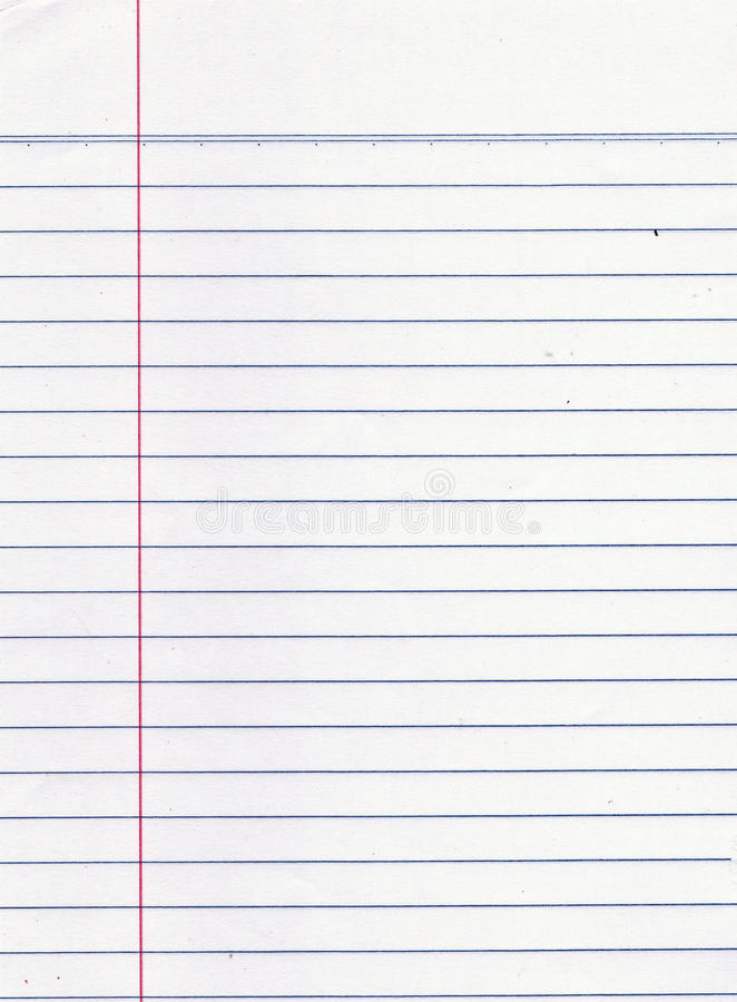 Blank paper sheet stock photo Image of dirty, notebook - 33539514