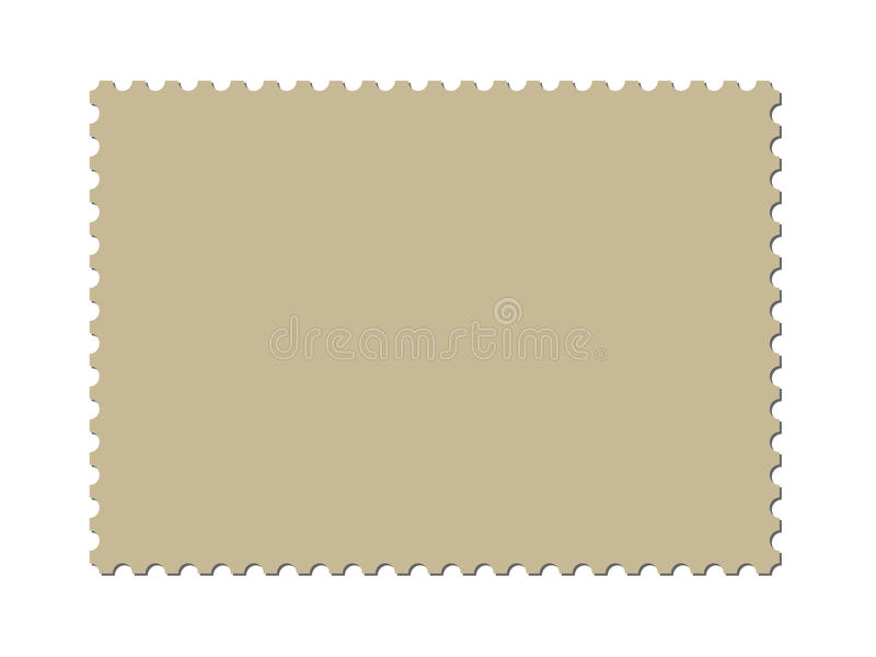 A Blank Postage Stamp Template (vector Included) Stock Vector - stamp template