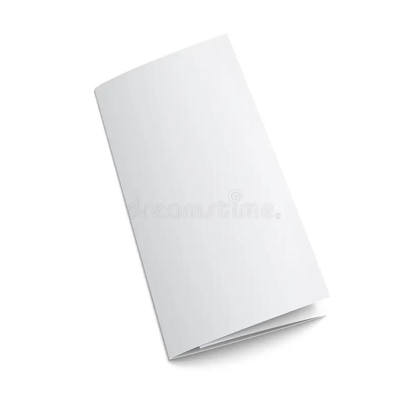 Blank Tri Fold Brochure Template Baskanidaiblank Powerpoint