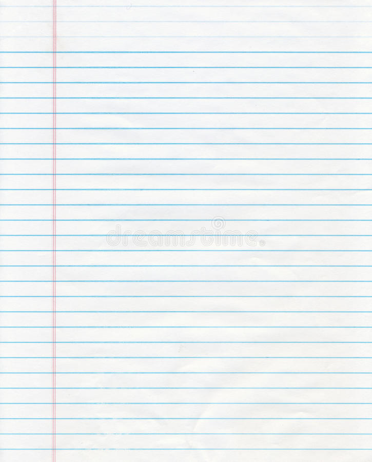 Blue Lined Paper stock image Image of white, texture - 10249061 - line paper