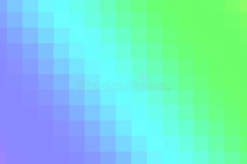 Blue And Pink Pixels Gradient Stock Illustration - Illustration of