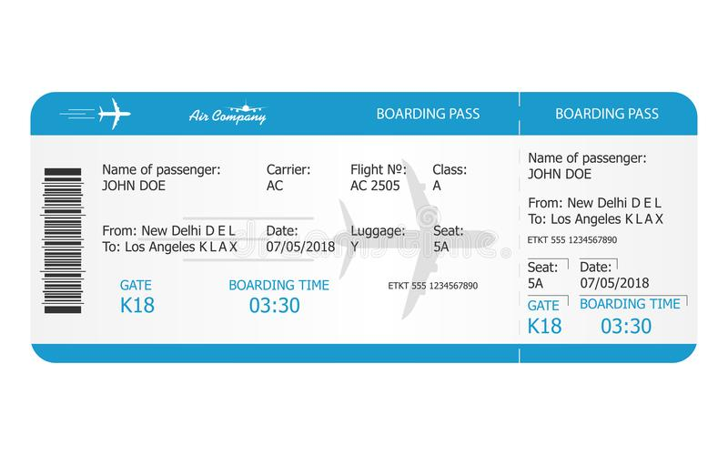 Boarding Pass Ticket Template Airplane Ticket Online Booking - play ticket template