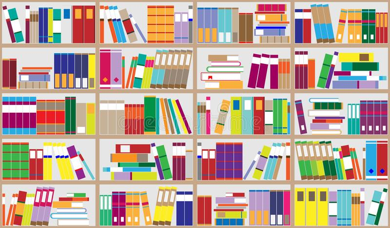 Cartoon Images Of Bookshelf Cartoonviewco
