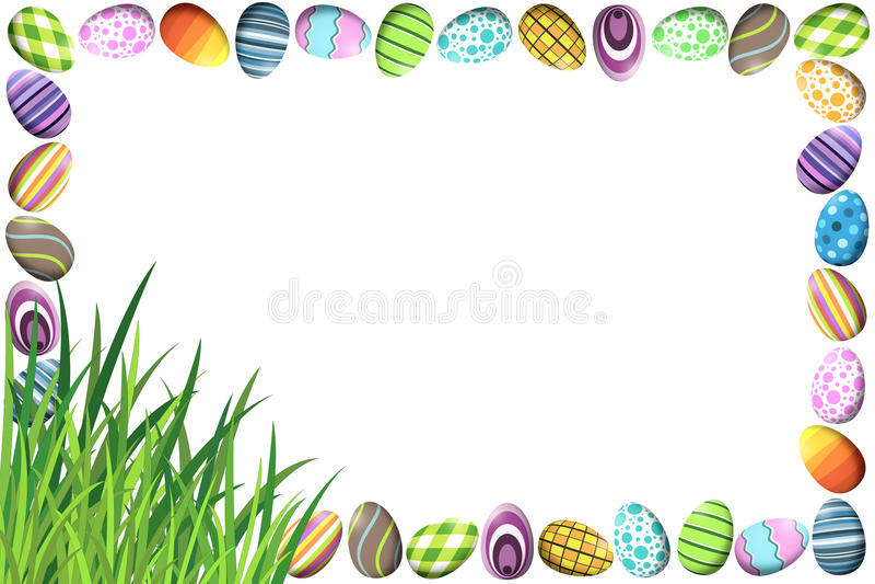 easter eggs border - Towerssconstruction