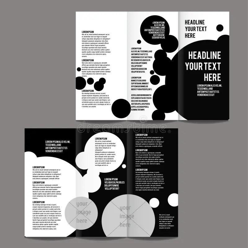 Brochure design template stock vector Illustration of print - 53926334