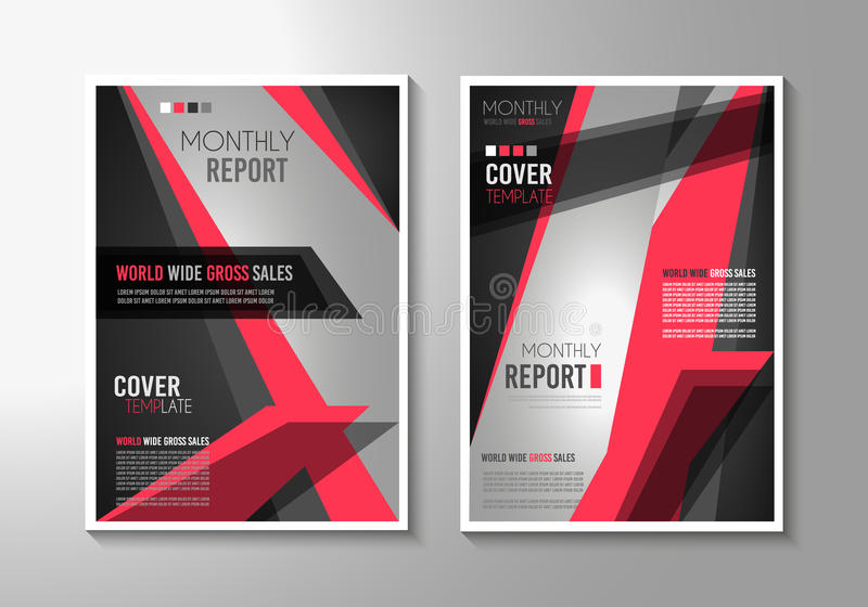 Brochure Template, Flyer Design Or Depliant Cover For Business Stock - sales brochure template