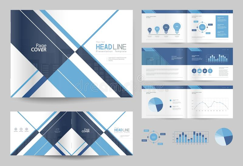 Business Brochure Design Template And Page Layout For Company - company profile