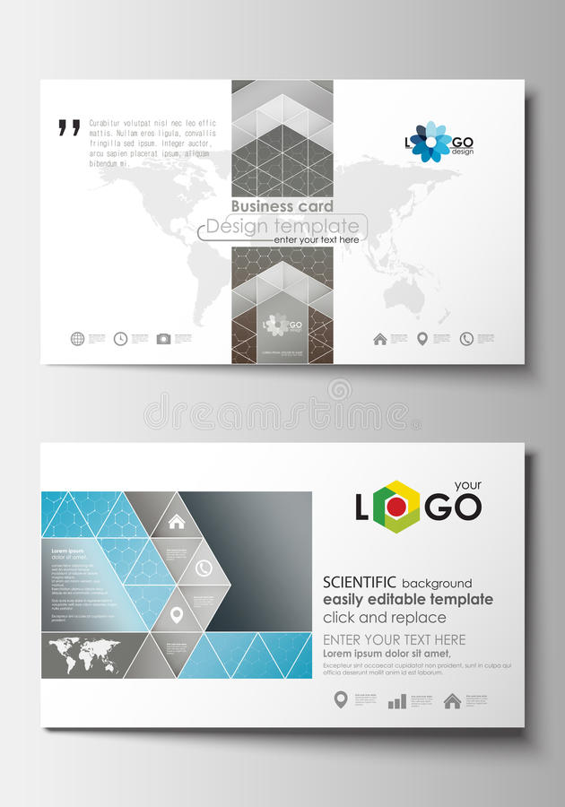 Business Card Templates Cover Template, Easy Editable Blank