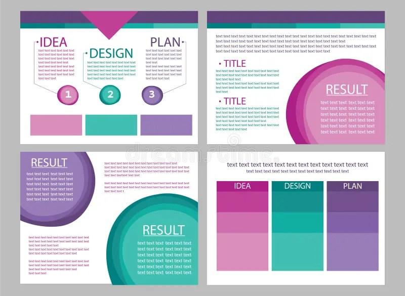 Business Marketing Presentation Slide Vectors Stock Vector - marketing presentation