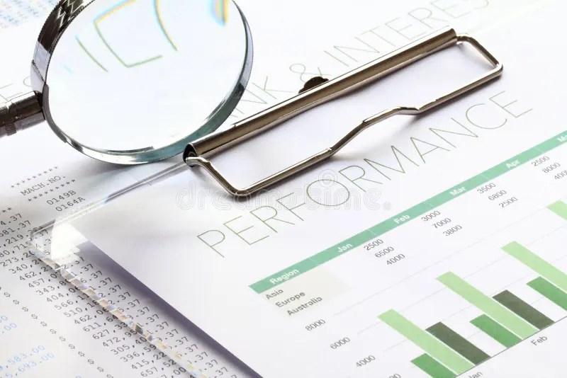 Business Performance Analysis Stock Image - Image of news, profits - performance analysis report