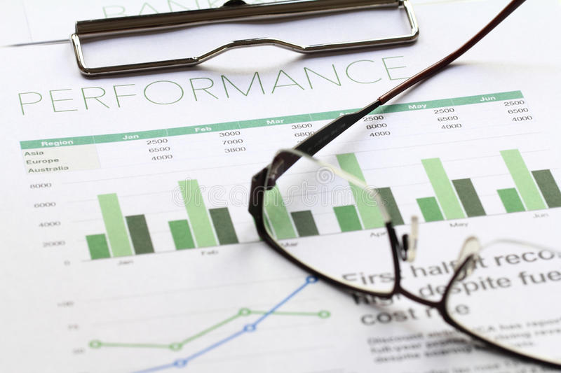 Business Performance Analysis Stock Photo - Image of finance, figure