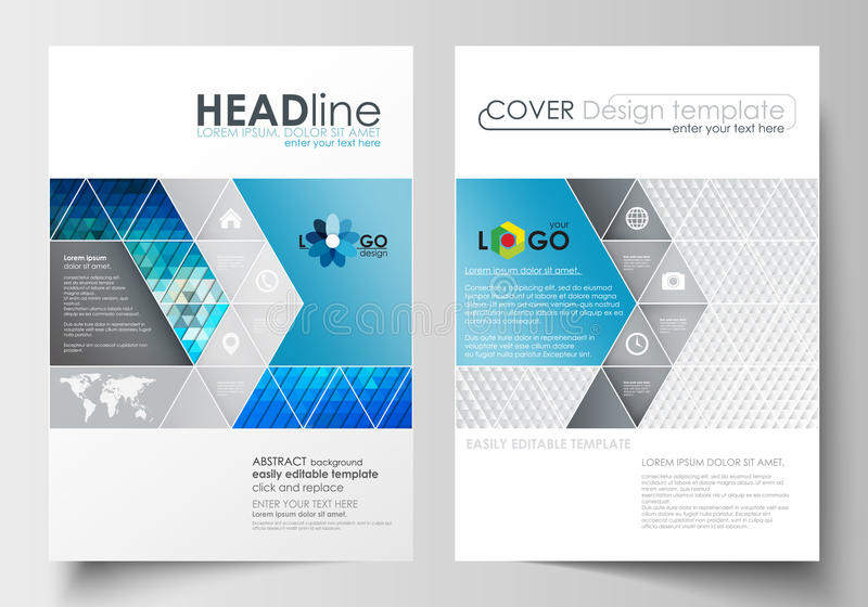 Business Templates For Brochure, Magazine, Flyer, Booklet Cover