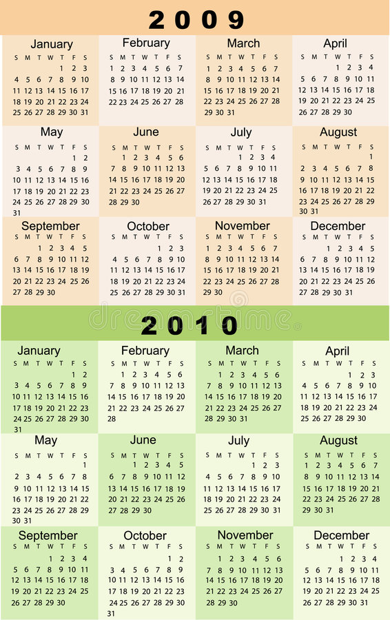 Bard College Calendar 2009 2010 Stock Photos Image 6473463