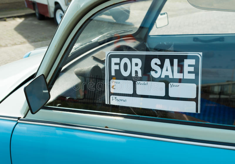 Car for sale stock image Image of drive, sell, bank - 35182639
