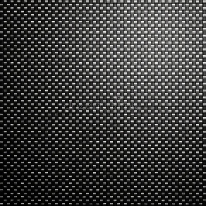 Carbon Fibre Mesh Background Stock Illustration - Illustration of