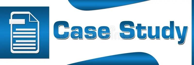 Case Study Blue Square Horizontal Stock Illustration - Illustration - studyblue