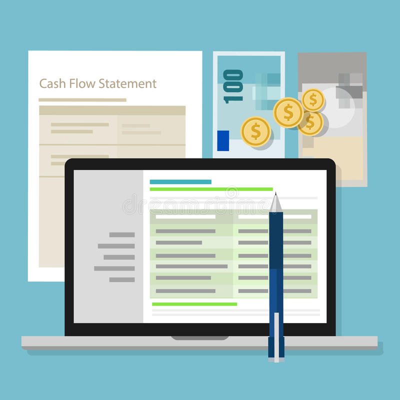 Cash Flow Statement Accounting Software Money Calculator Application