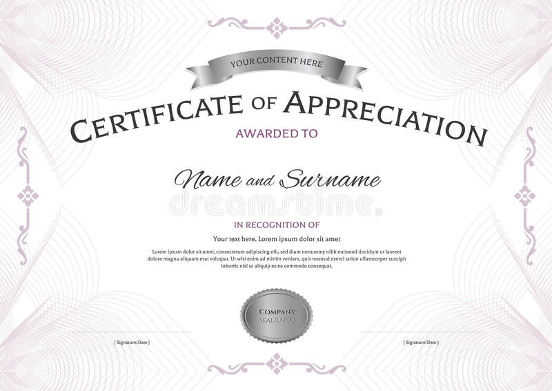 Rotary Certificate Appreciation Template Gallery