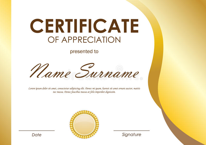 Certificate Of Appreciation Appreciation Certificate Template In - certificate of appreciation