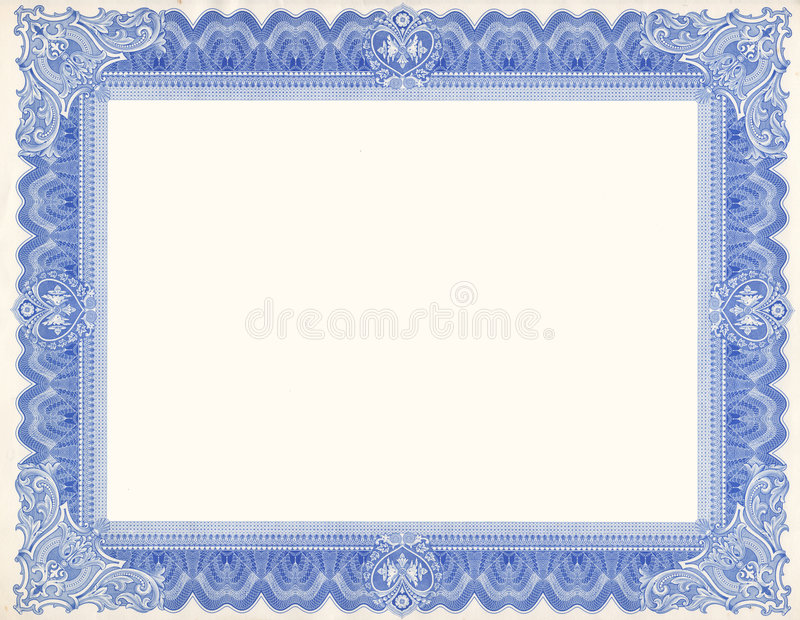 Certificate Border stock photo Image of customizable - 4064686 - free download certificate borders