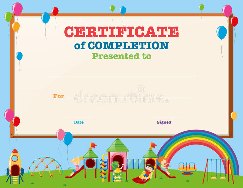 certificate template kids - Leonescapers