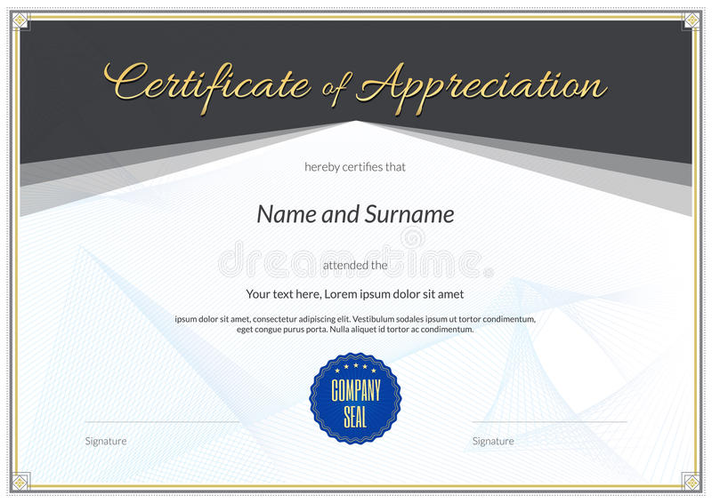 graduation certificate of appreciation - Minimfagency - certificate of appreciation