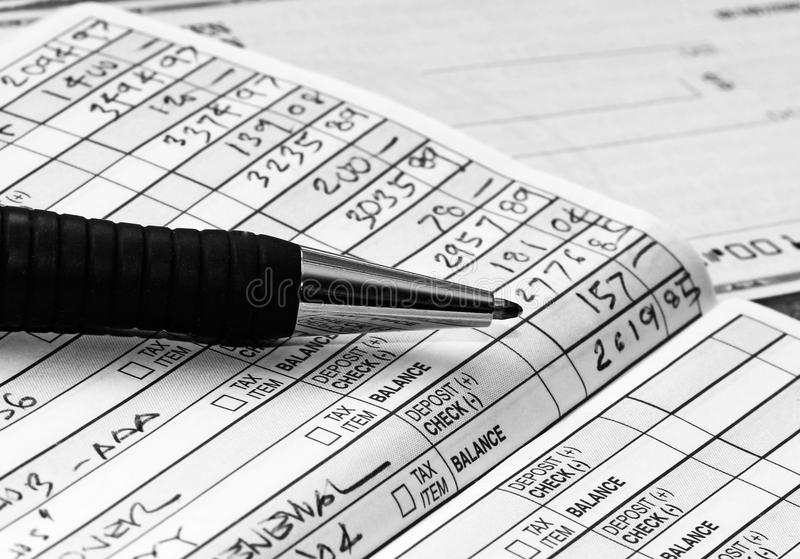 Check Register stock photo Image of credit, financial - 19108622